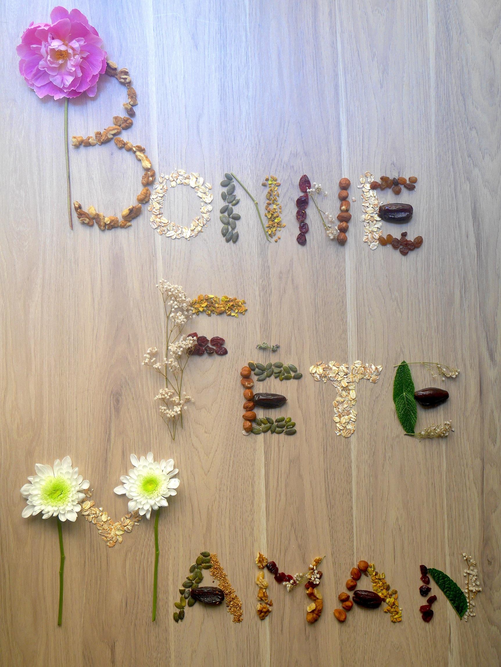 Création florale pour la fête des mères ! Bonne fête maman :-)