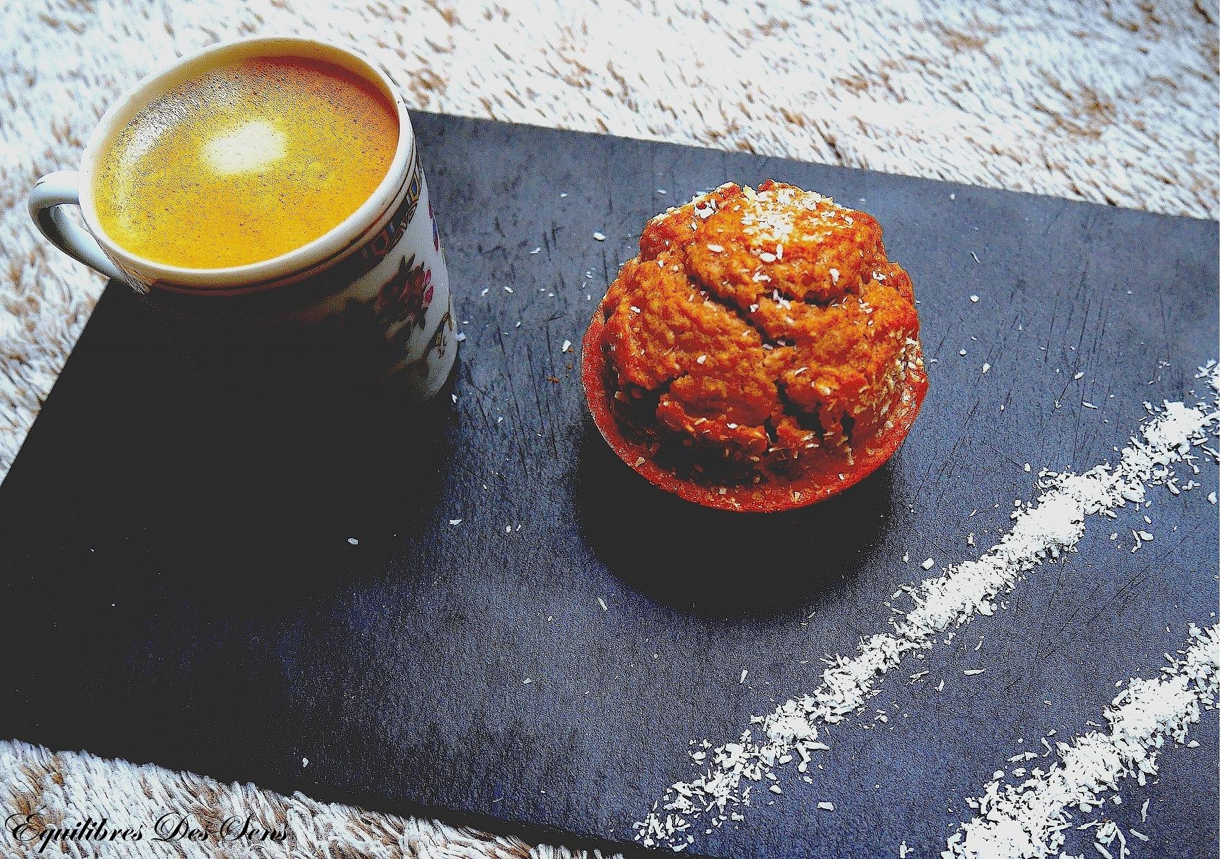 Ces muffins moelleux à la noix de coco vegan & sans gluten sont un vrai délice !