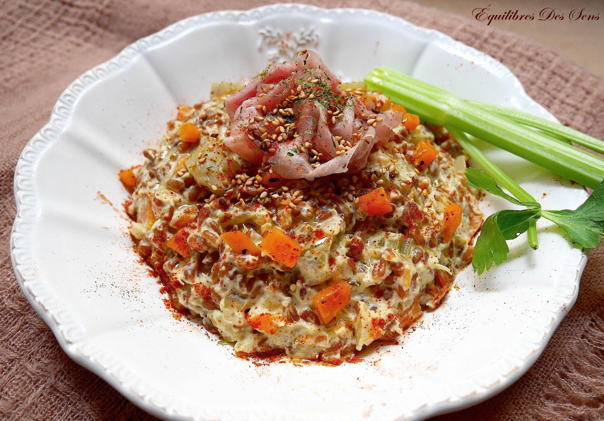 """Succombez à l'originalité et aux saveurs de ce risotto d'épeautre aux fonds d'artichaut ! Autrement appelé """"épeautrotto"""" ;-)"""