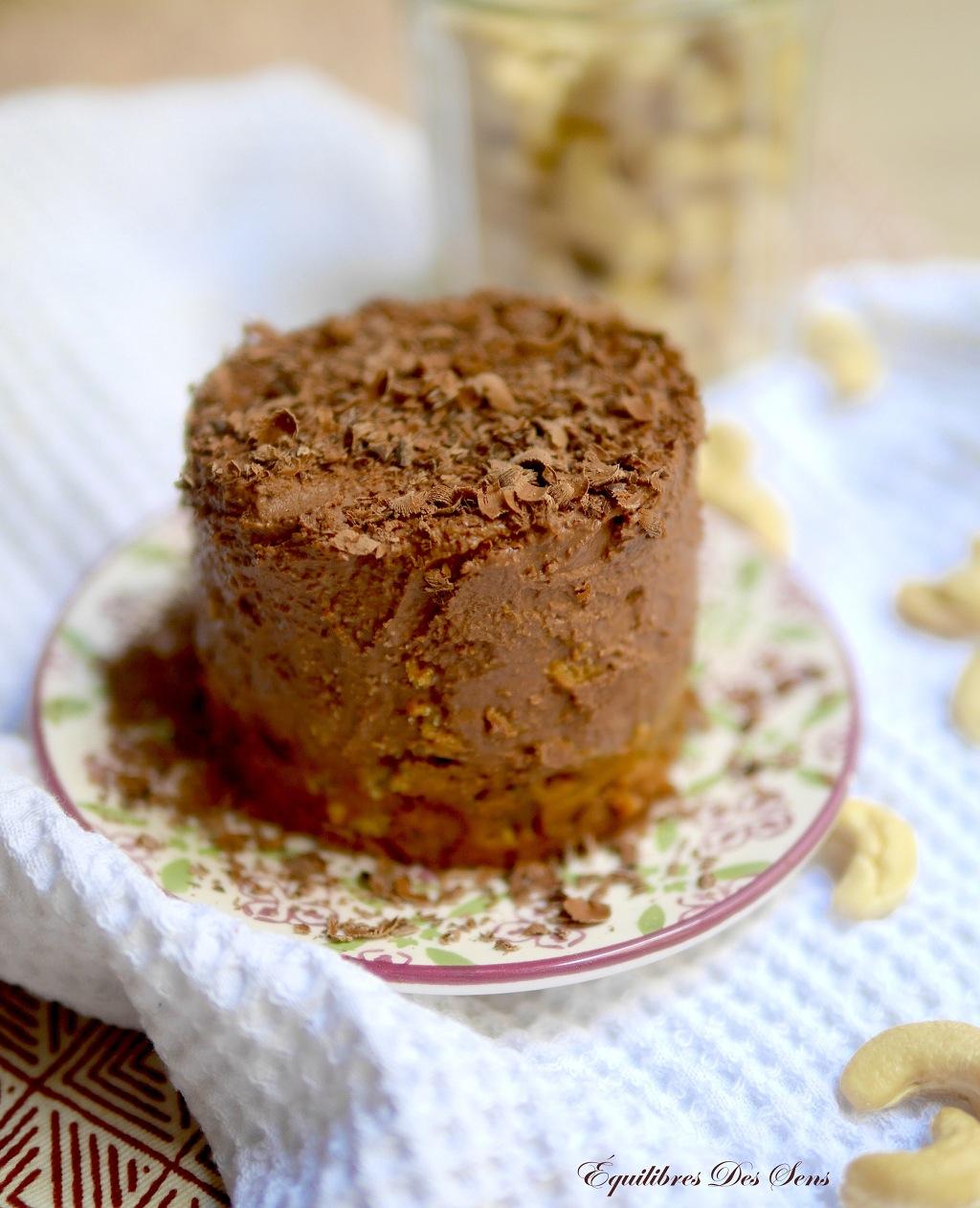 Cheesecake chocolat-speculoos vegan et sans gluten pour un dessert sain & gourmand !
