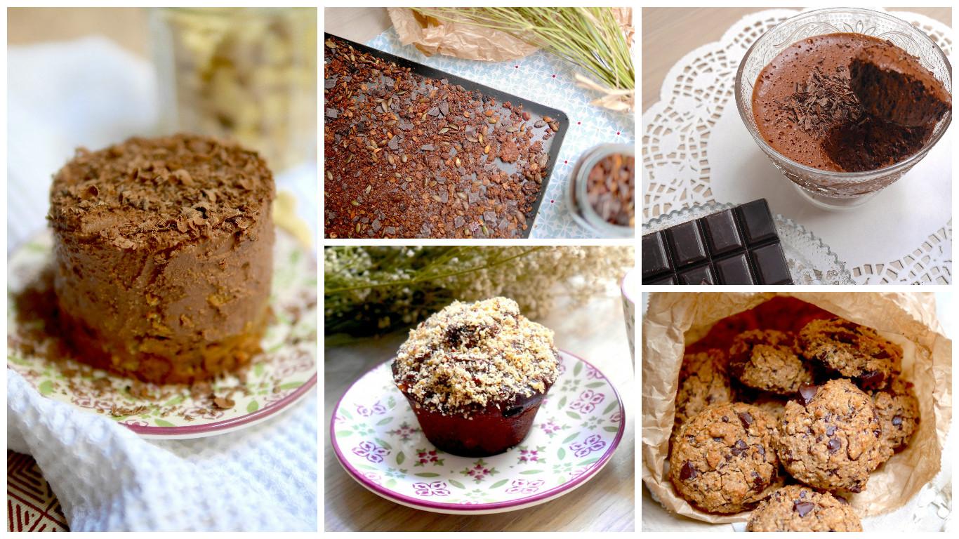 5 recettes équilibrées vegan et sans gluten pour un dessert sain et gourmand !