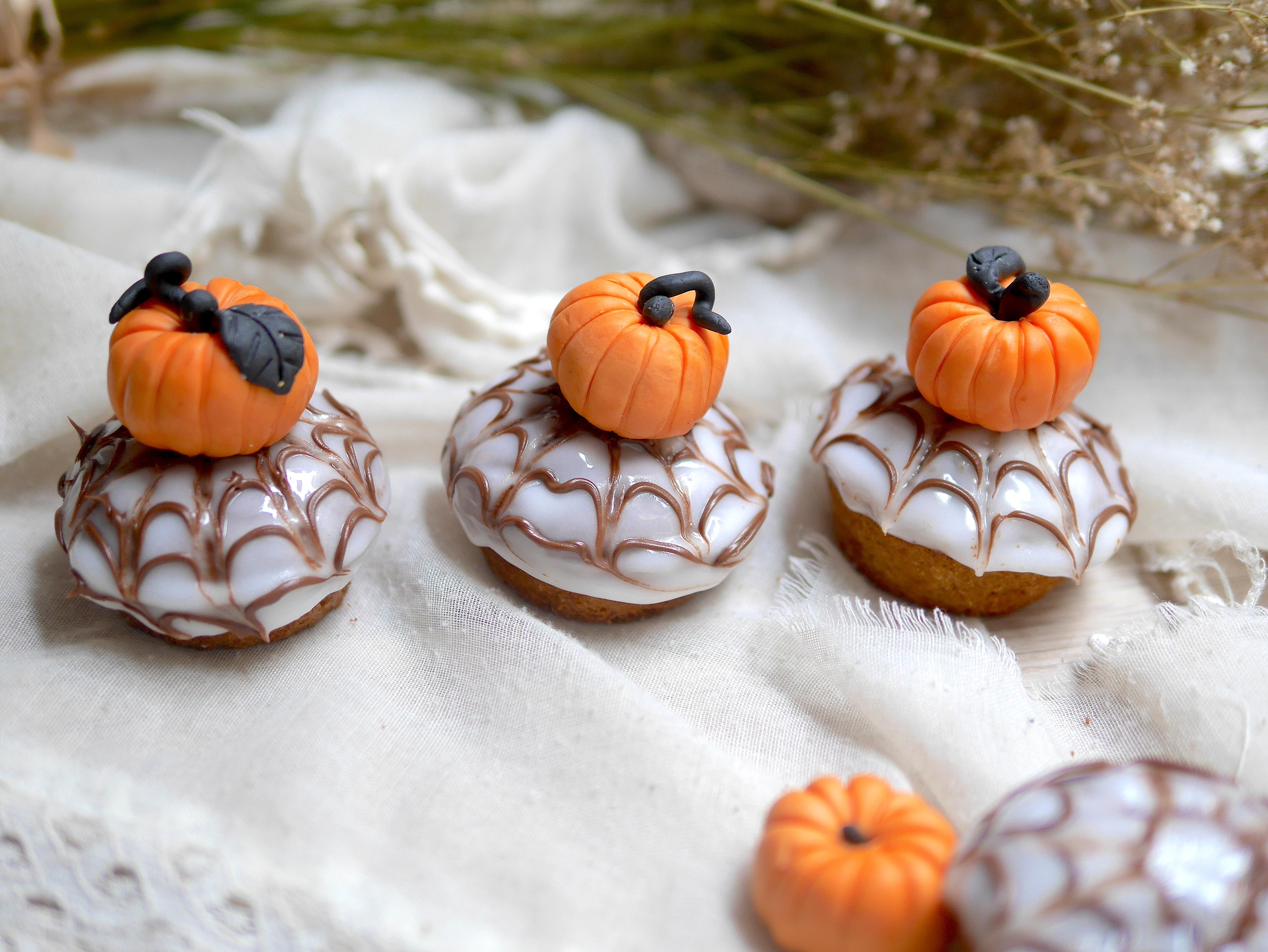 Cupcakes de butternut spécial Halloween pour un dessert diaBIOlique :-)