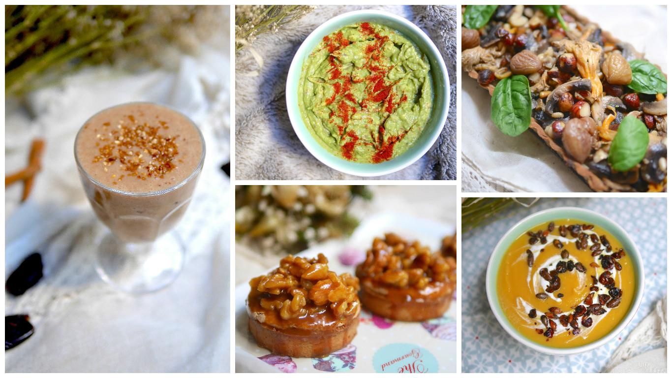 5 recettes d'automne saines & gourmandes