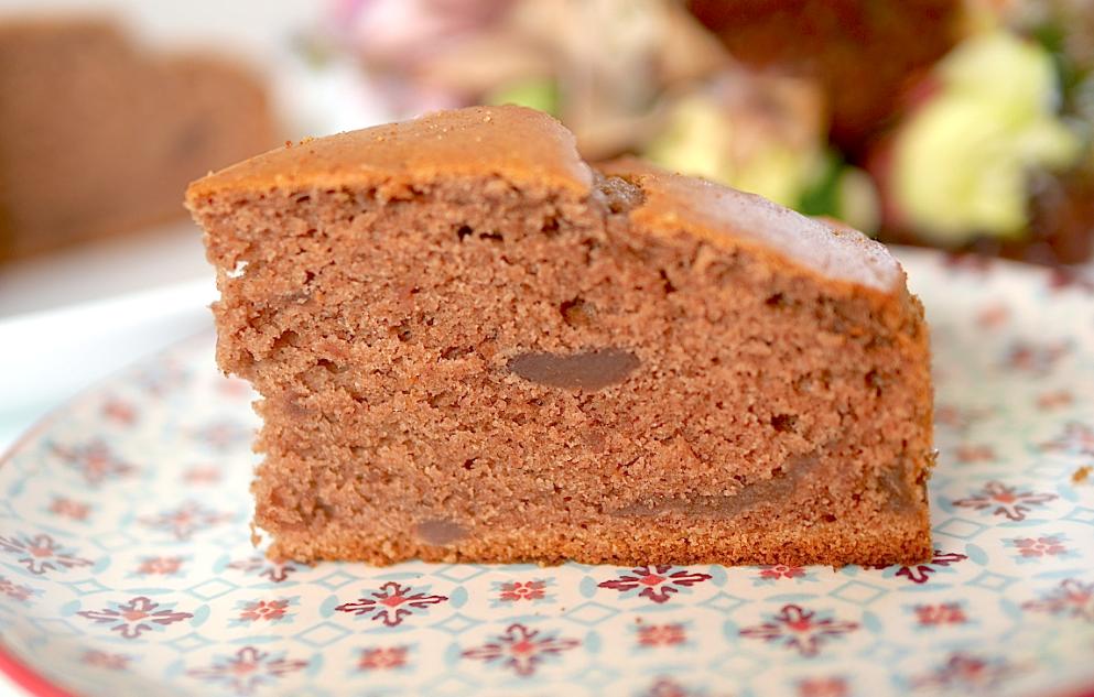 Gâteau moelleux aux marrons vegan et sans gluten ! Irrésistible :-)