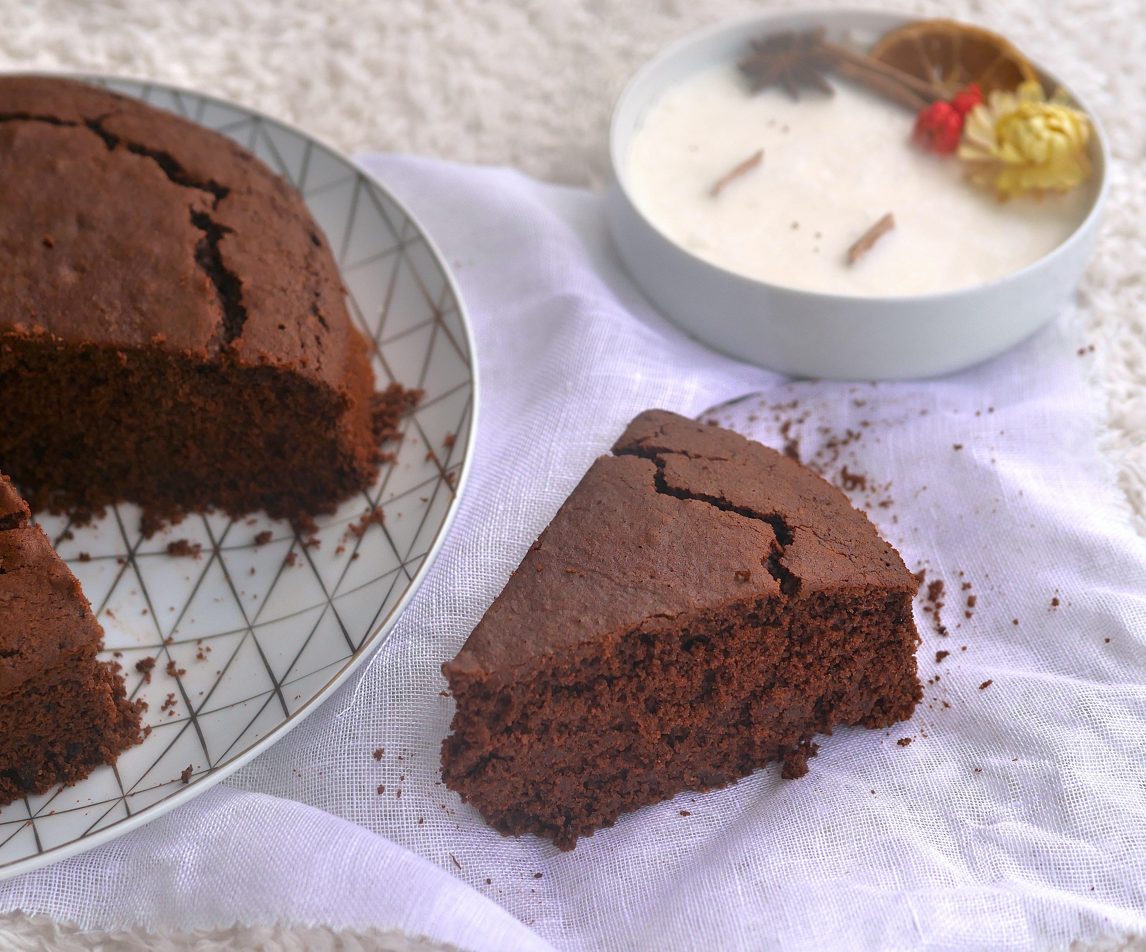 Gâteau moelleux au chocolat vegan et sans gluten très sain et très gourmand !